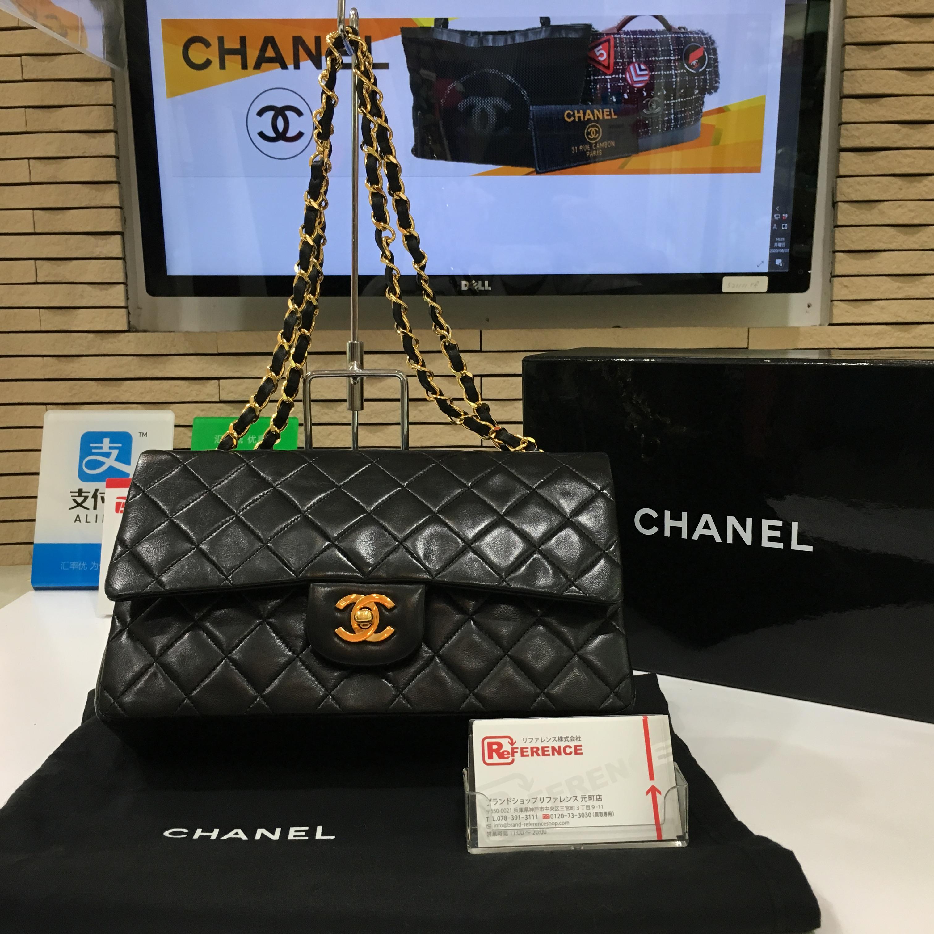 CHANEL🌸シャネルのマトラッセ25【型番:A01112】Wチェーンショルダーバッグを高価買取👜