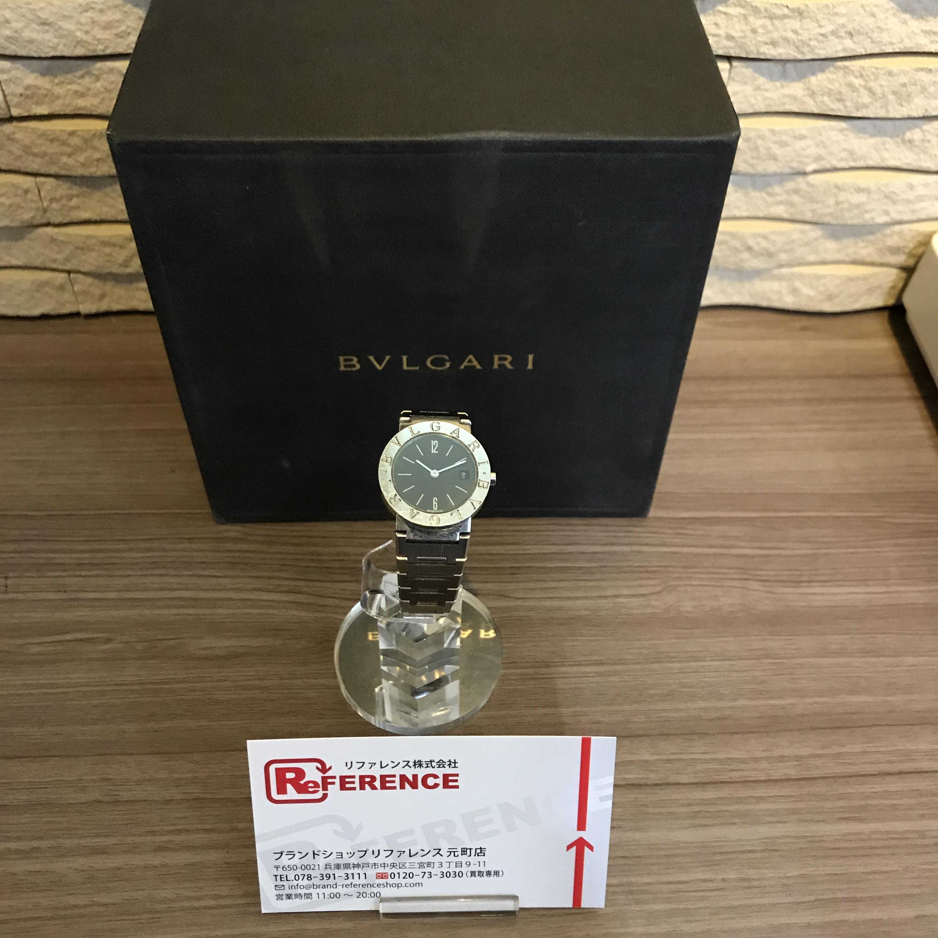 BVLGARI✨ブルガリの人気シリーズ腕時計【型番:BB26SS】を高価買取しました⌚