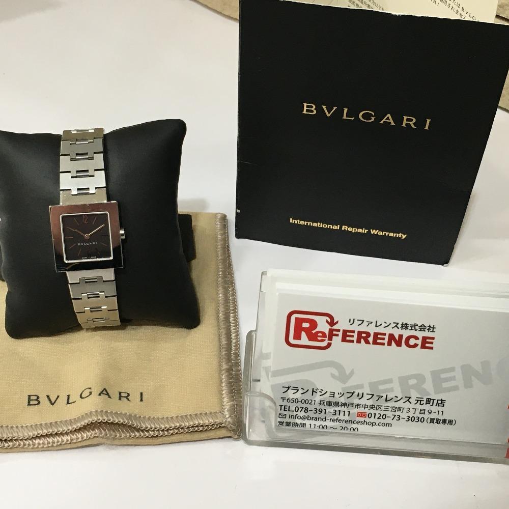 BVLGARI💎ブルガリのレディース腕時計(型番:SQ22SS)を高価買取⌚