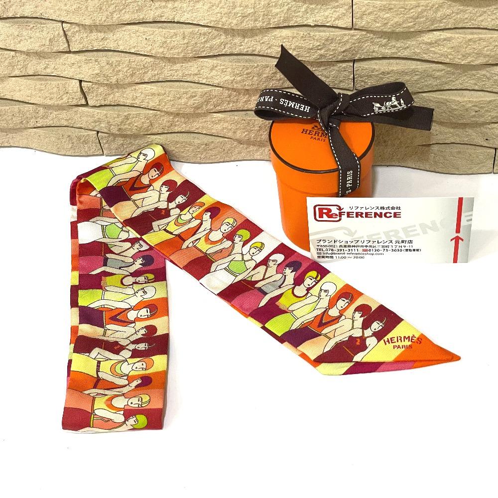 大人気HERMESのツイリースカーフを高価買取!!!!